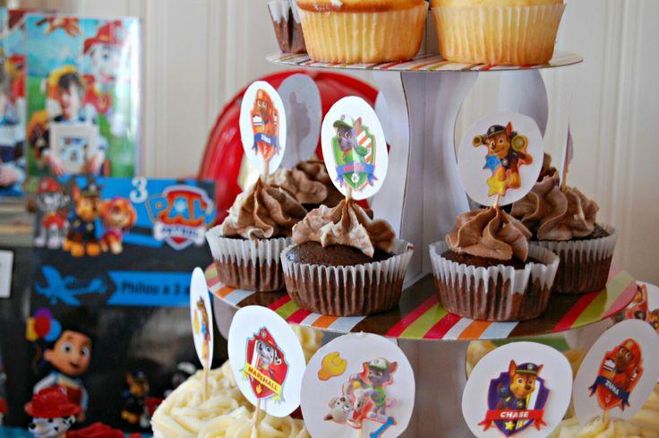 Cuo cakes fête Pat patrouille