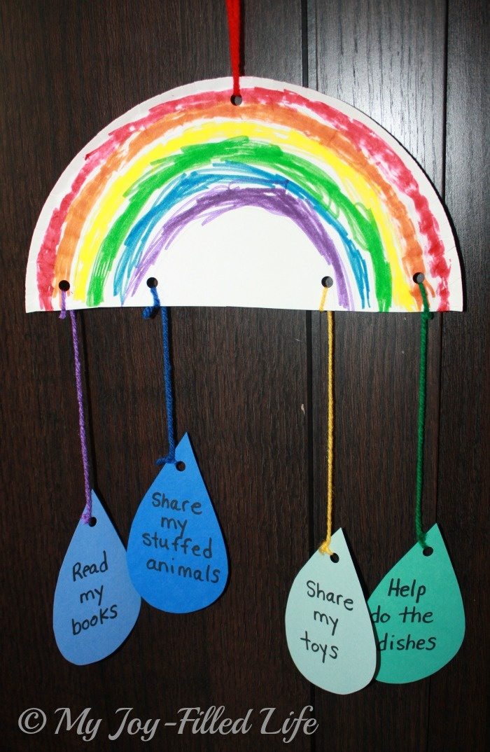 Cute Noah's ark craft - think modern covenant/promise to God regarding being righteous or the environment
