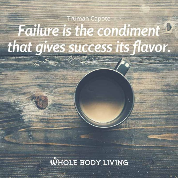 Love this. Failure is necessary. So many of my one on one clients fear failure. Can you imagine what a boring life it would be if you never failed? If you never tried? Failure is a good thing. Read full post hear. http://www.heartsoulhealthwellness.com/new-blog-1/2016/11/17/f-a-i-l-u-r-e