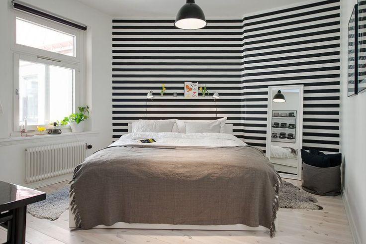 sypialnia tapeta nad łóżkiem - Szukaj w Google