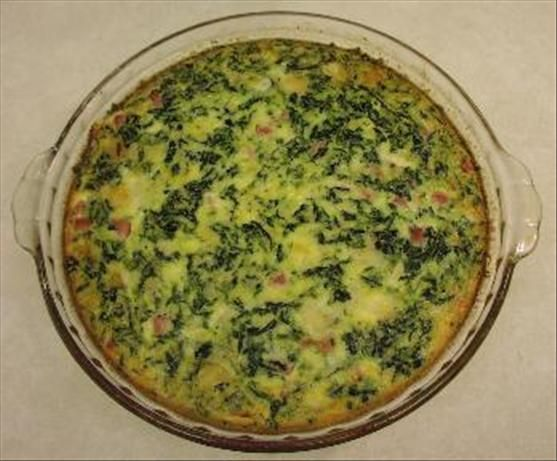 Florentine Quiche from Food.com: A low carb brunch item that everyone, even non-dieters, will love.