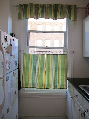 Kitchen Curtains Made From Dishtowels Luckykate Home
