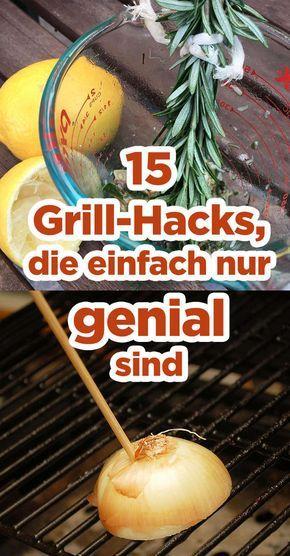 15 Grill-Hacks, die einfach nur genial sind