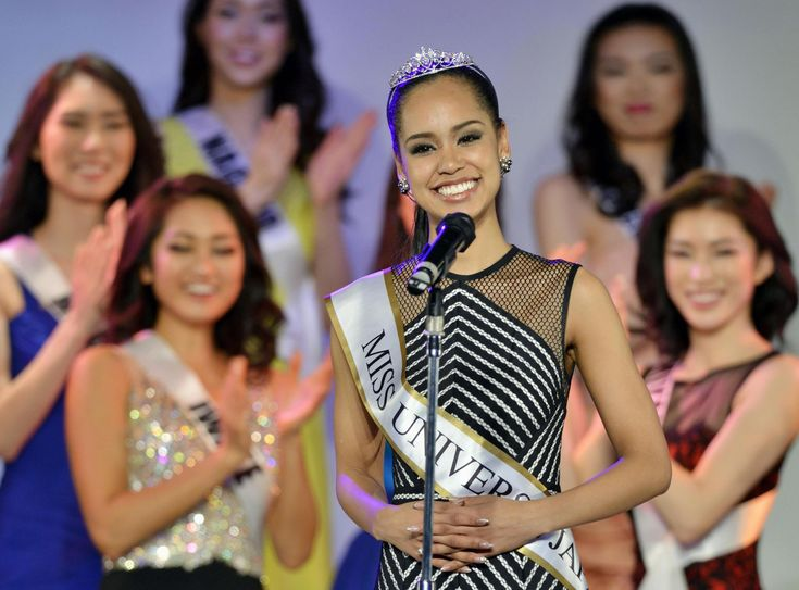 The stunning Miss Nagasaki, Ariana Miyamoto, is the first multiracial contestant ever to be crowned Miss Universe Japan and will represent Japan in the 2015 ...