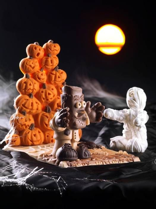 Chocolate molds for Halloween - www.decosil.it