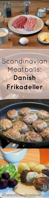 Danish Frikadeller - Every cuisine has their meatball. This is the Danish Meatball.