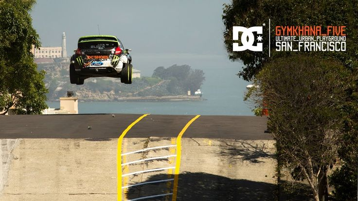 DC SHOES: KEN BLOCK'S GYMKHANA FIVE: ULTIMATE URBAN PLAYGROUND; SAN FRANCISCO  man I wish I could drive like this  :)