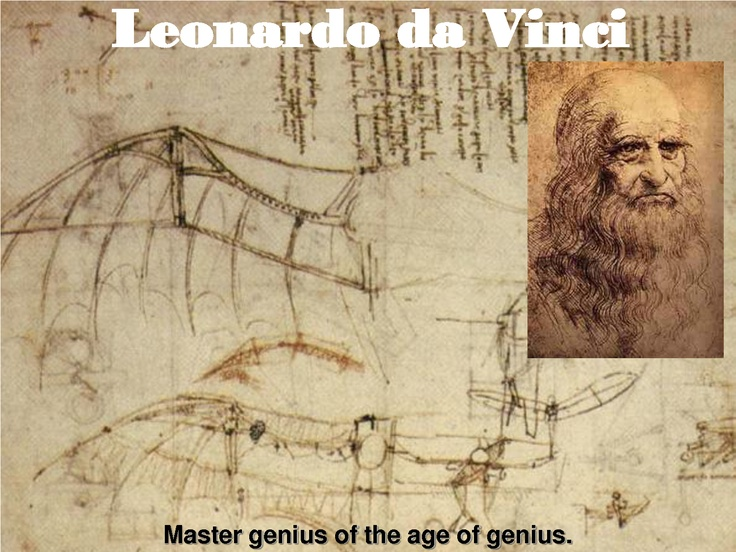 Da Vinci Better Inventor Than Edison