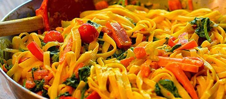 Masakan Praktis Rumahan: Resep Spaghetti Saus Kari