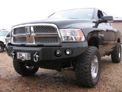 Dodge Ram 1500 - Dodge RAM 1500 2009-2012 - Iron Bull Bumpers - Iron Bull Front Bumper Dodge RAM 1500 2009-2012
