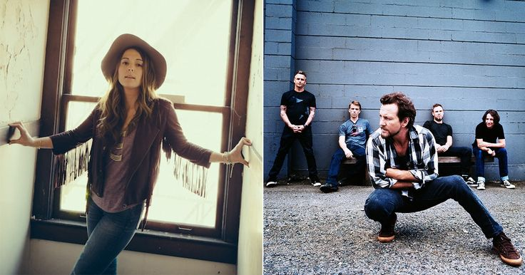 Hear Pearl Jam's Blistering Brandi Carlile Cover 'Again Today' #headphones #music #headphones