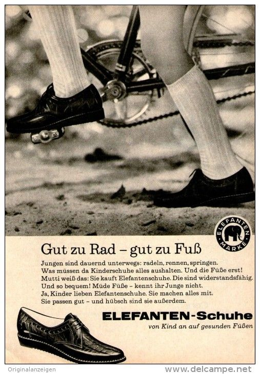 Original-Werbung/ Anzeige 1963 - ELEFANTEN - SCHUHE - ca. 120 x 170 mm