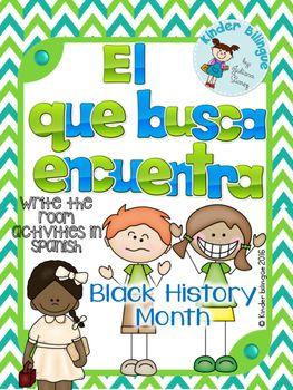 El que busca encuentra (El mes de la historia afroamericana)