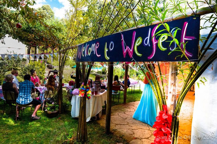 Wedfest 2015. Festival wedding