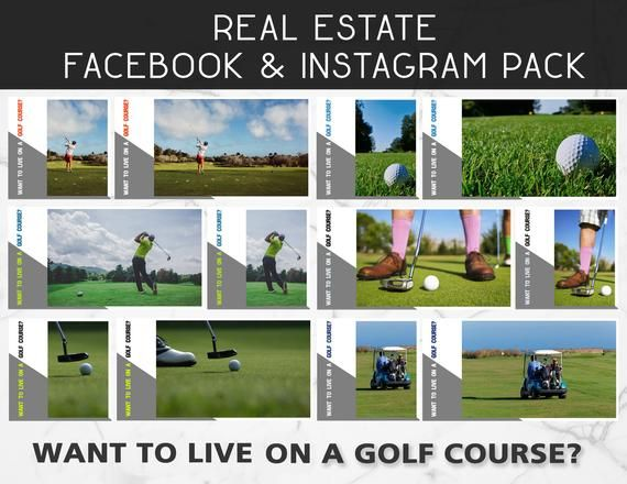 12 Pack Do You Want To Live On A Golf Course Facebook And Etsy Social Media Social Media Post Social Media Content