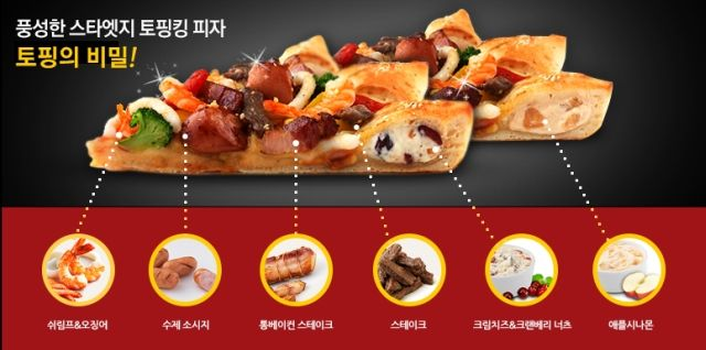 Pizza Hut Korea's Ridiculous New, Star-Shaped Pizza is Dessert & Dinner in One | Brand Eating