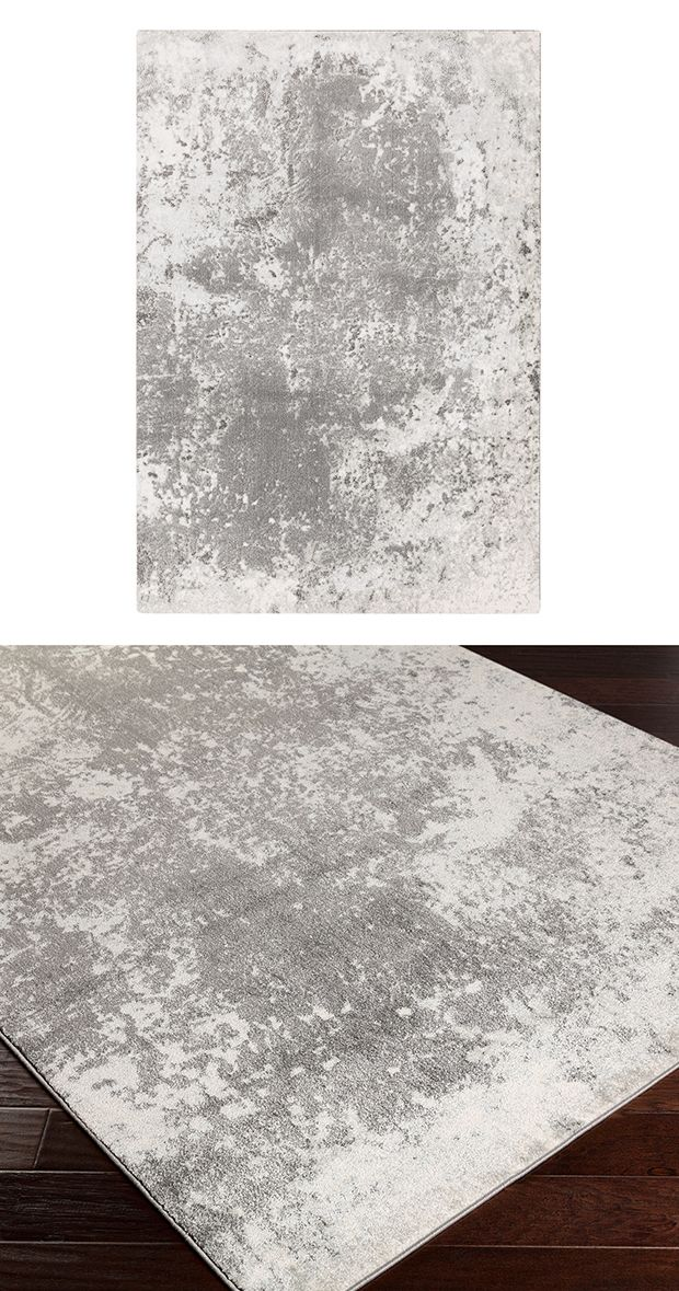 Set an urban tone with a versatile gray palette. Our low-pile Lafayette Area Rug is made with 100% polypropylene and features…