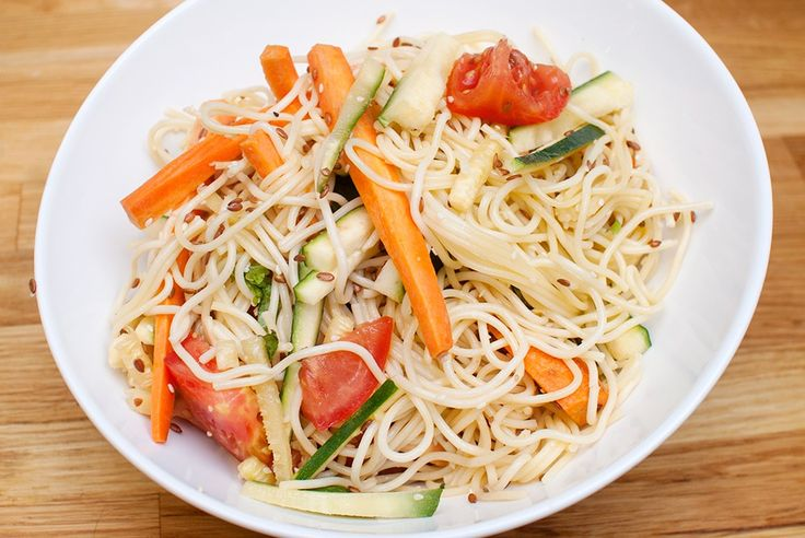 Frisk og god pastasalat som passer veldig godt på buffet og som middagstilbehør. Pastasalat er kjempegodt, og her er en oppskrift på en variant litt friskere enn du kanskje er vant med. Vi lager en enkel dressing av olivenolje, men hvitløk, chili og basilikum setter en god spiss på retten likevel. Server som tilbehør til …
