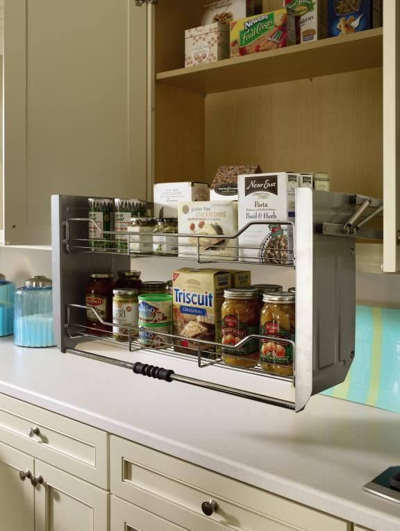 Best 25 wall cabinets ideas on pinterest diy fitted for Kitchen countertop storage solutions