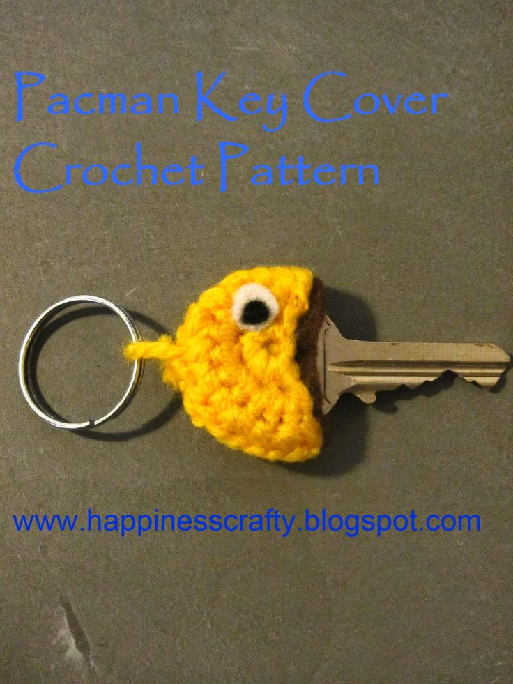 ... - HilariaFina Pinterest Key Covers, Crochet Patterns and Keys