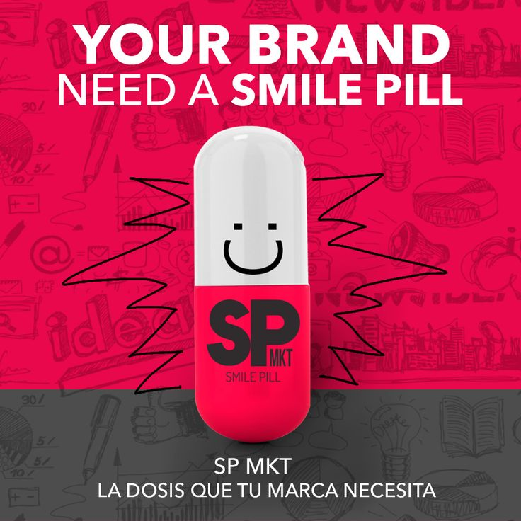 Your brand need a Smile Pill