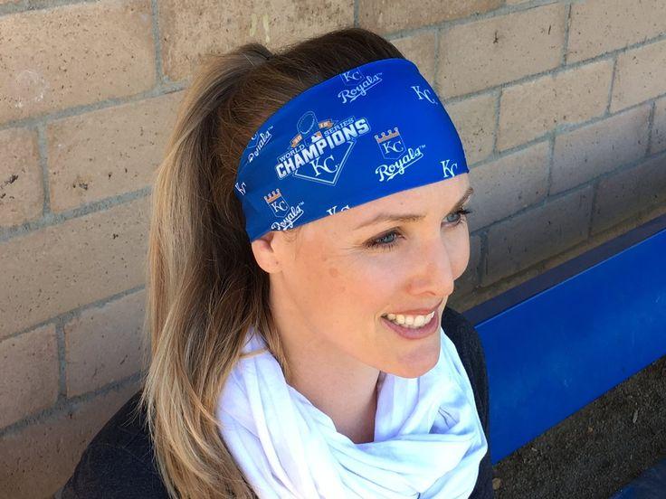 KC Royals MLB World Series Champions Headband