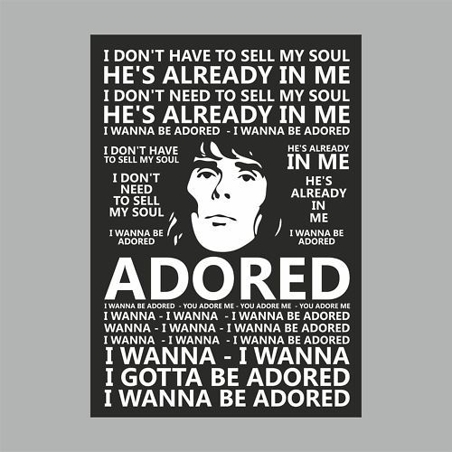THE STONE ROSES ♥ another good wedding song. I wanna be adored.