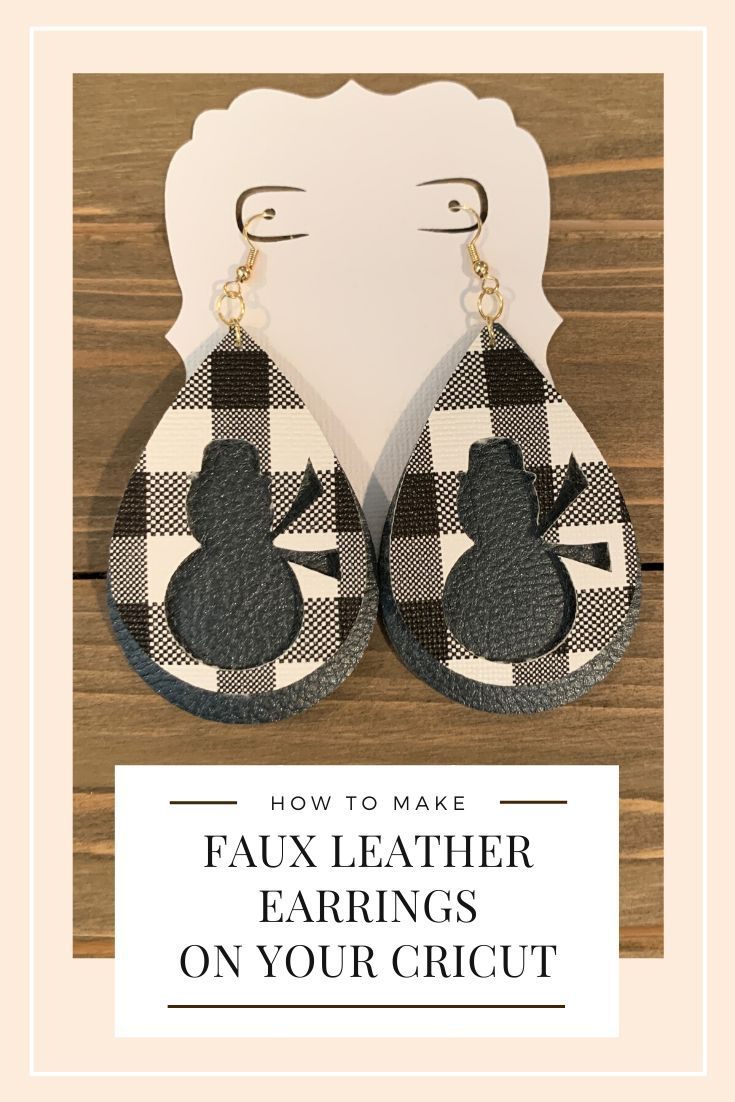 Faux Leather Black Peach Floral Leather Alternative Teardrops