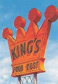 King's Food Host Sign- My sister worked there at 28th and Grand. Favorite memory was the phones located in each booth that you could call to other people. The food was great!
