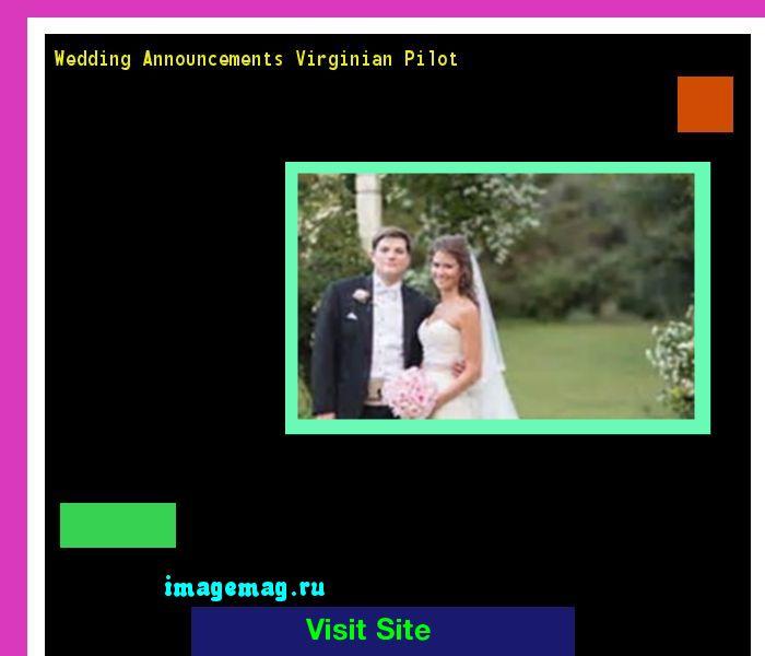 Wedding Announcements Virginian Pilot 142806 - The Best Image Search