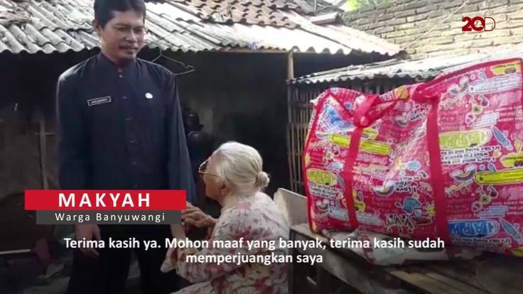 Nenek Makyah merasa sangat terharu. Setelah 10 tahun tinggal di kandang ayam, dia akhirnya dipindahkan ke panti jompo. Tonton videonya di sini: http://detik.id/6mPRdn  Jangan sampai ketinggalan konten video menarik lainnya. Follow akun Facebook 20detik ya!