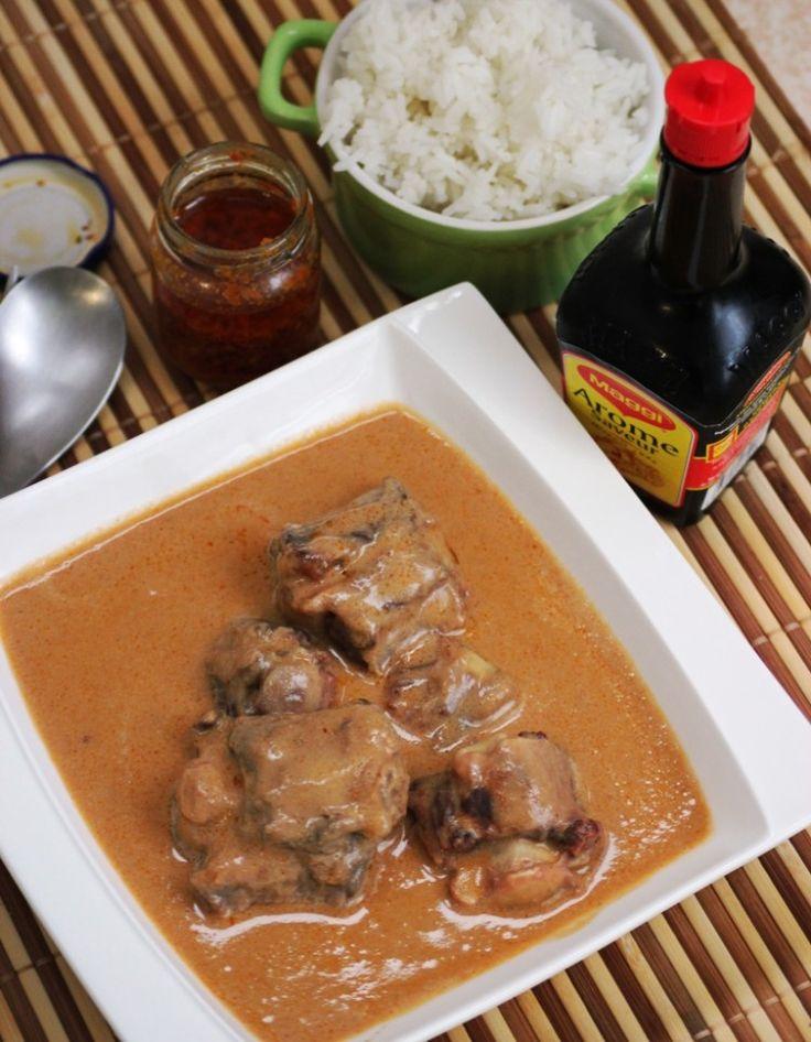 Boeuf à la sauce d'arachides - Recettes de Cuisine africaine