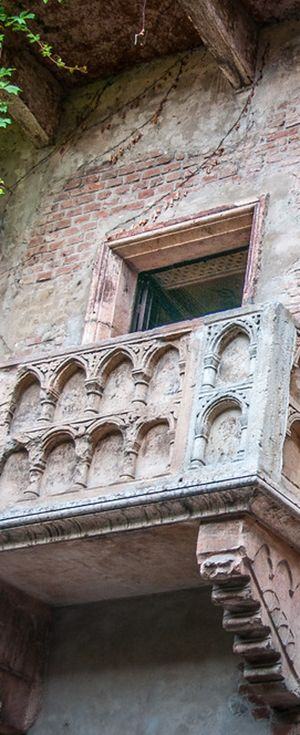 Unique Romeo and Julliet Balcony