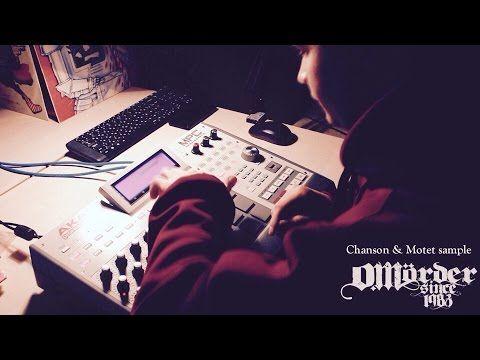 chanson & motet sample on akai mpc beatmaking video