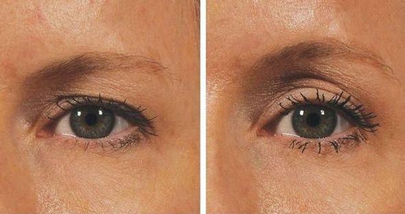 Met deze truc geef je hangende oogleden een natuurlijke lift! Veel mensen hebben er last van: hangende oogleden. De huid van he...