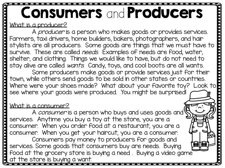 Economics Introduction Consumer Producer Goods Services Supply
