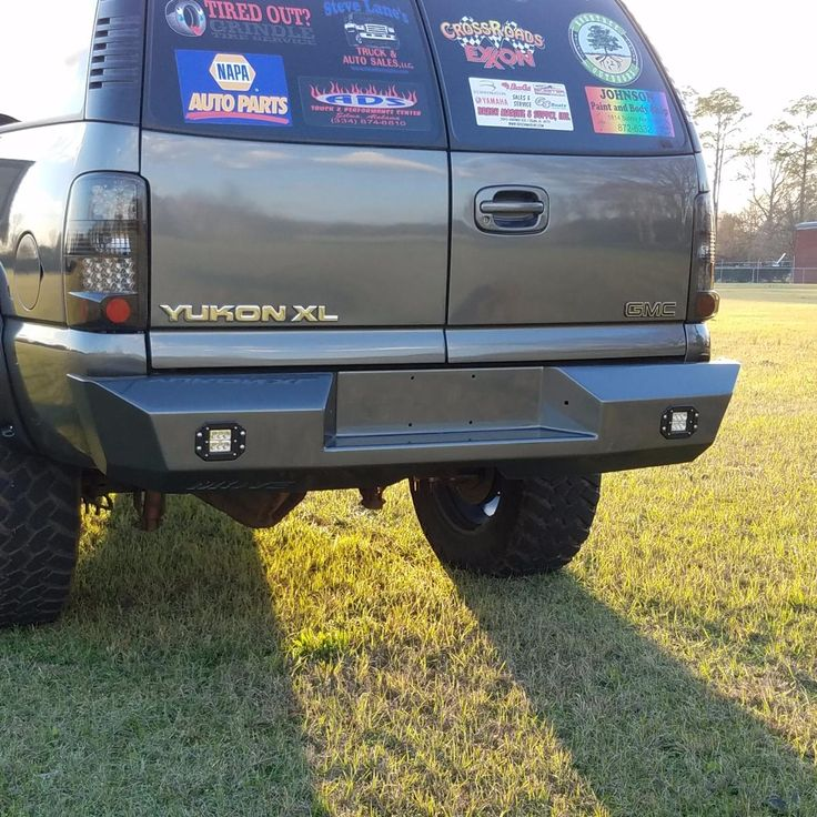 Customizable Wiy Rear Standard Gmc Yukon 2000 2006 Truck 1556 Move Bumpers Chevy Tahoe Truck Bumpers Yukon Truck