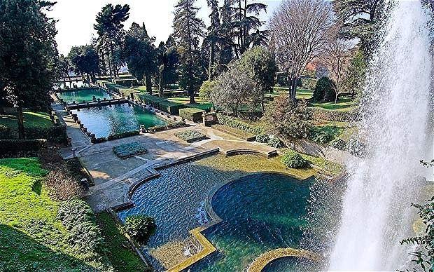 13 best le jardin de la villa d 39 este tivoli en italie for Jardines tivoli zona 9