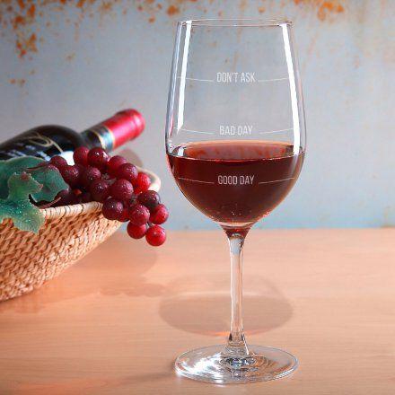Weinglas Leonardo XL Don't ask jetzt im design3000.de Shop kaufen! Heute war ein guter Tag? Ein mieser? Ein katastrophaler? Wenn Sie den...