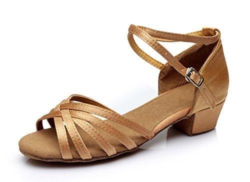 Oferta: 14.22€. Comprar Ofertas de Vesi-Zapatos de Baile Latino de Tacón para Niña/Mujer Albaricoque Talla 26 barato. ¡Mira las ofertas!