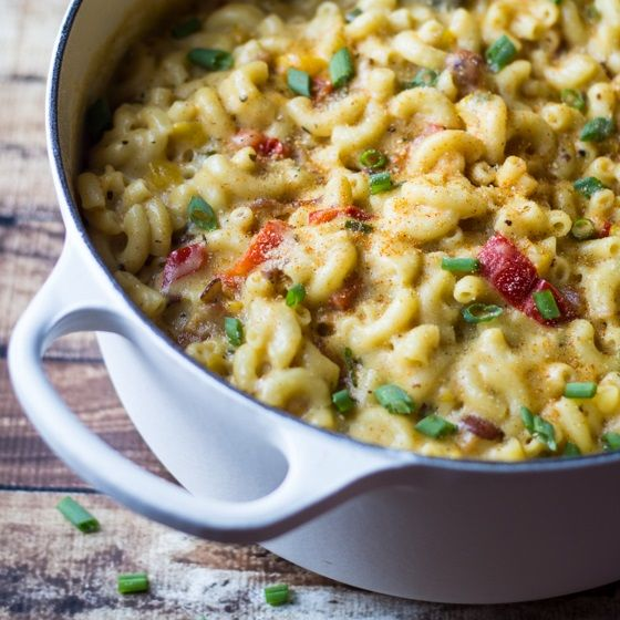Cajun Bacon Stovetop Mac & Cheese is the best comfort food in the world. Make it for loved ones, or eat all of it yourself. I won't tell.