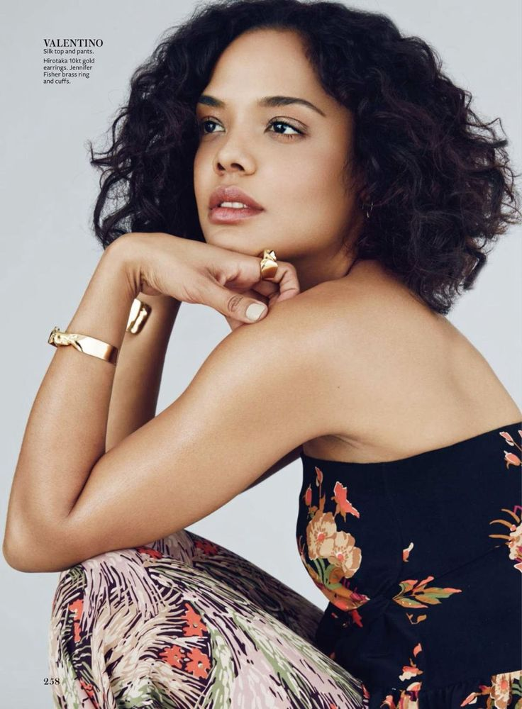 """Lovely Day"" Tessa Thompson for InStyle US December 2015"