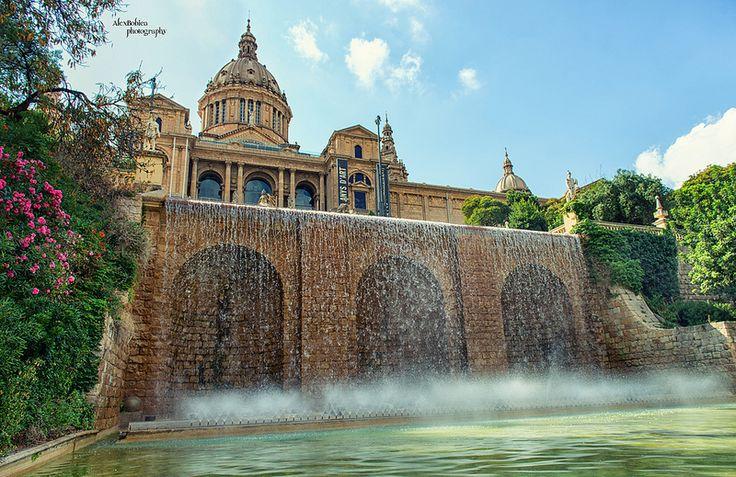 Museu Nacional d'Art de Catalunya - #Barcelona, #Spain, #musem, #city