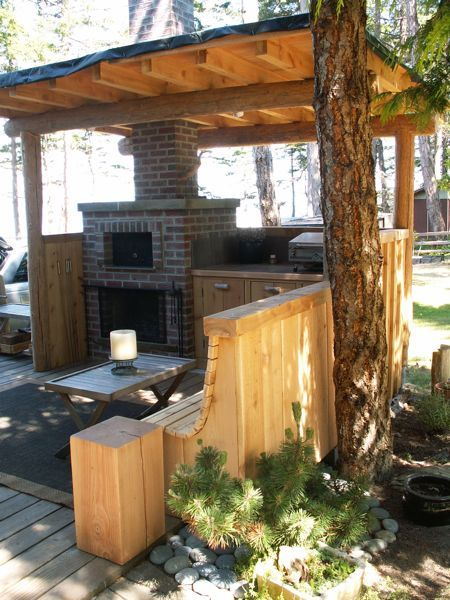 27 best images about outdoor kitchen on pinterest decks for Outdoor cooking station plans