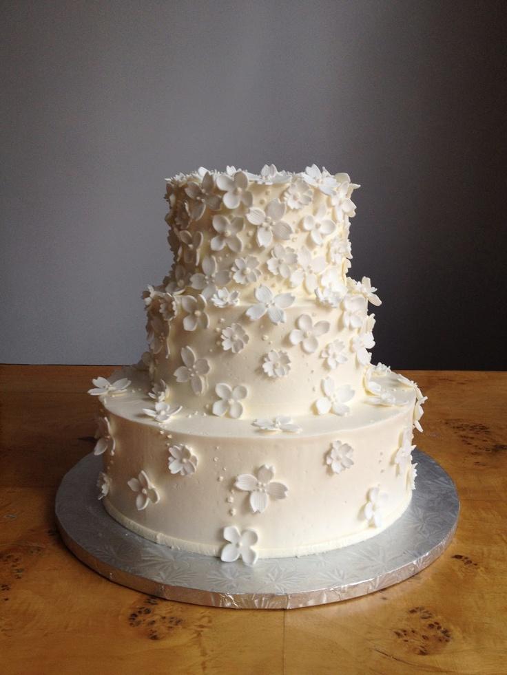 Petal White, from A White Cake : Cake Gallery - www.awhitecake.co...
