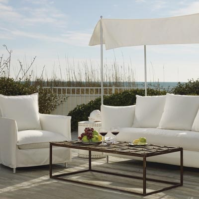 Lee Industries Oleander Apartment Sofa With Canopy. Lee Industries Has  Redefined Outdoor Living By Bringing
