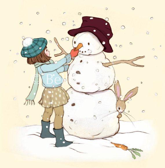 Belle & Boo und der Schneemann