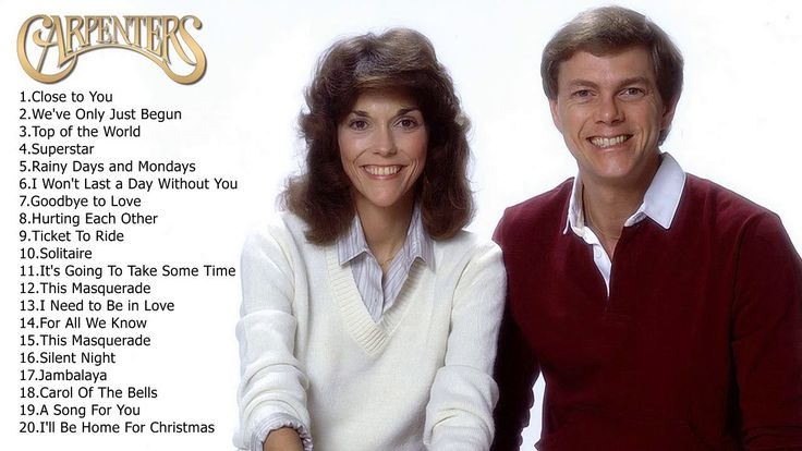 Top Carpenters Songs - The Best of Carpenters