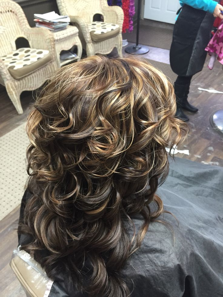Carmel Highlight With Brown All Over Color Love To Color
