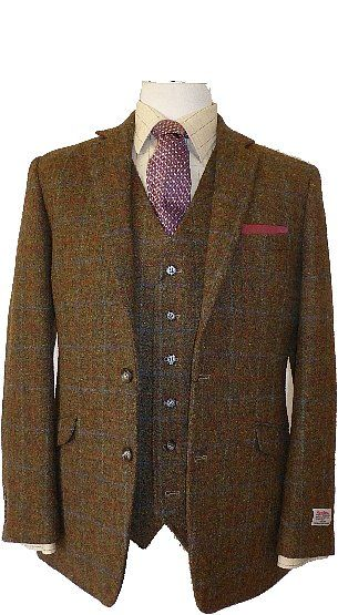 finlay harris tweed jacket and waistcoat combo | scotland ...